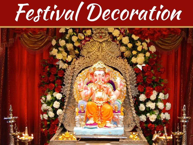 Ganesh Chaturthi 2018 Festival Decoration And