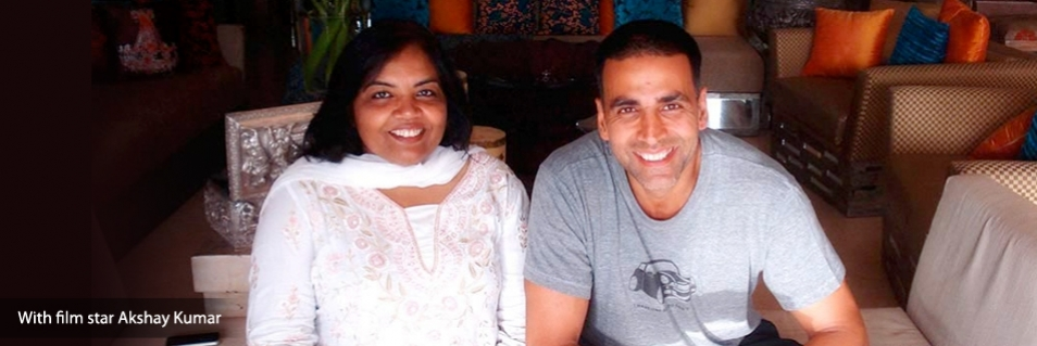 AstroArchitect Neeta Sinha With Film Star Akshay Kumar