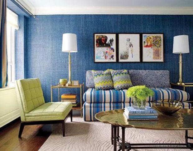 Blue Seagrass Wallpaper
