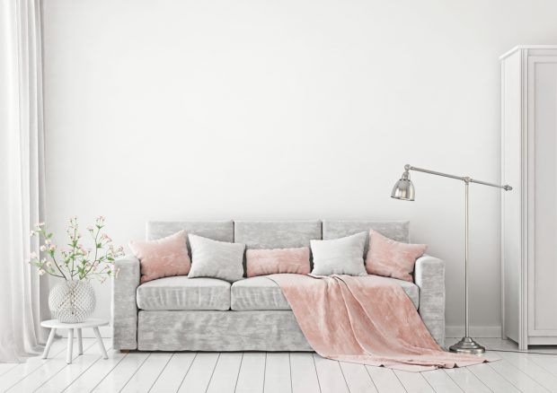 Create A Soft, Memorable Living Room With Pastels