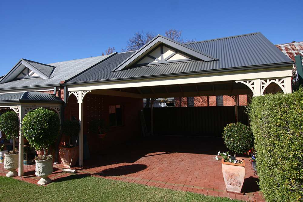 Integrated Carport