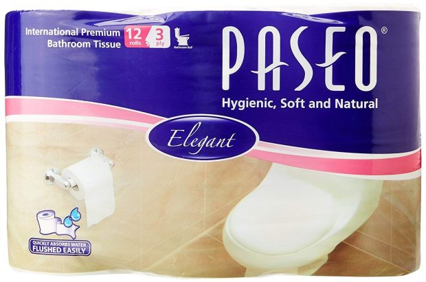 International Premium Bathroom Toilet Roll by Paseo