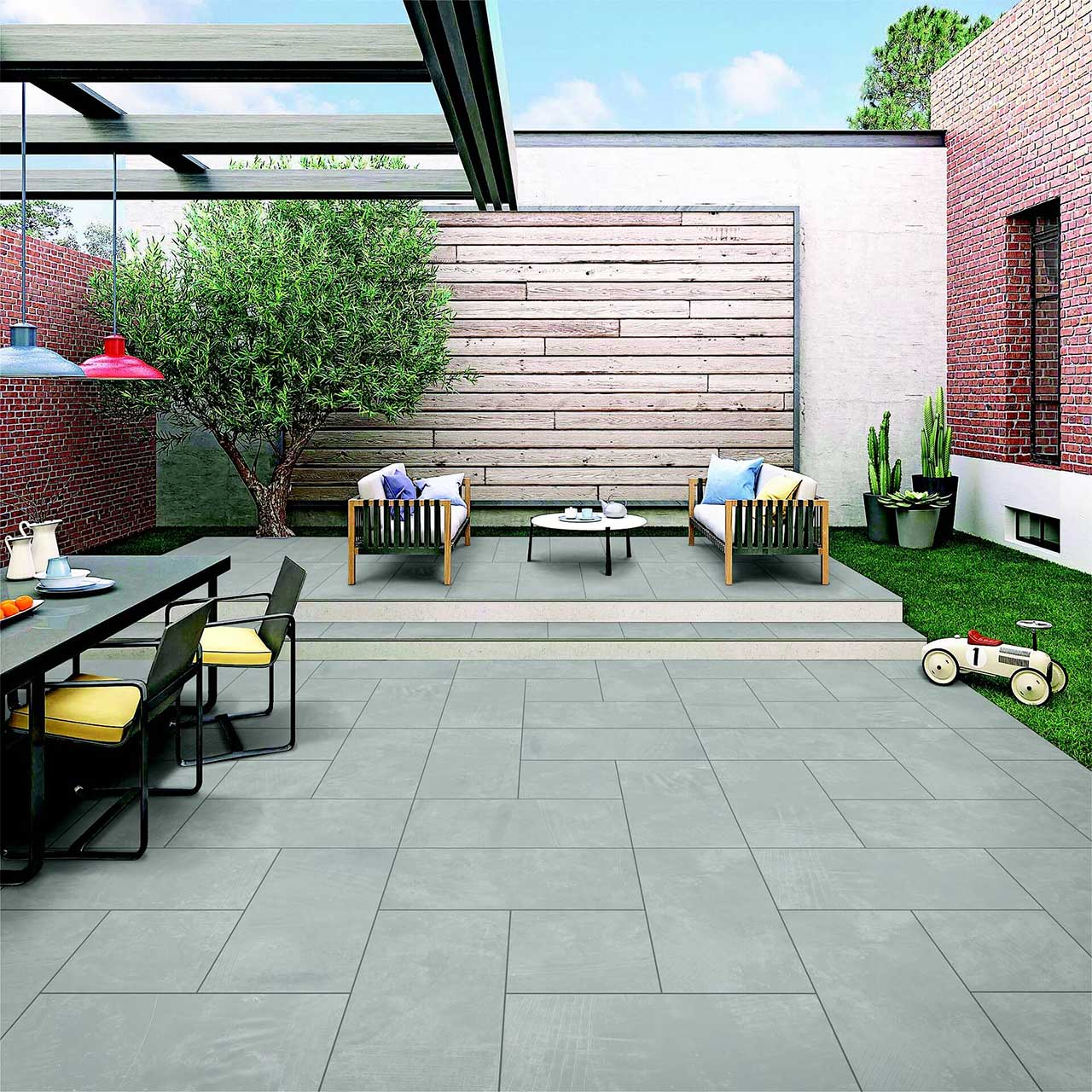 Temperature Resistant Outdoor Tiles