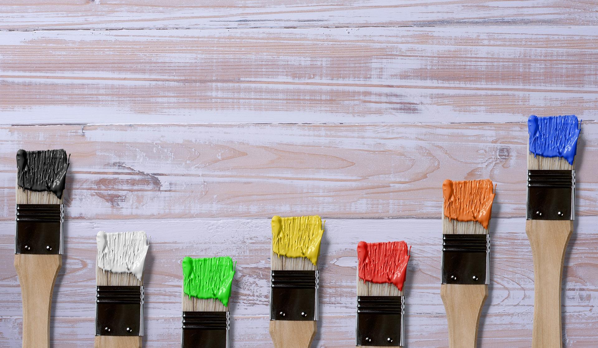 Push The Brush When Painting