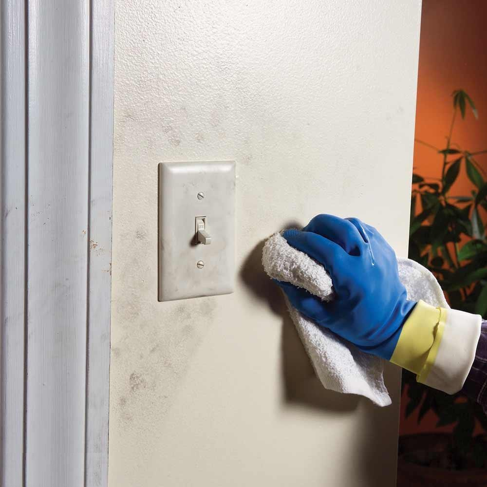 Use Degreaser If The Wall Is Dirty