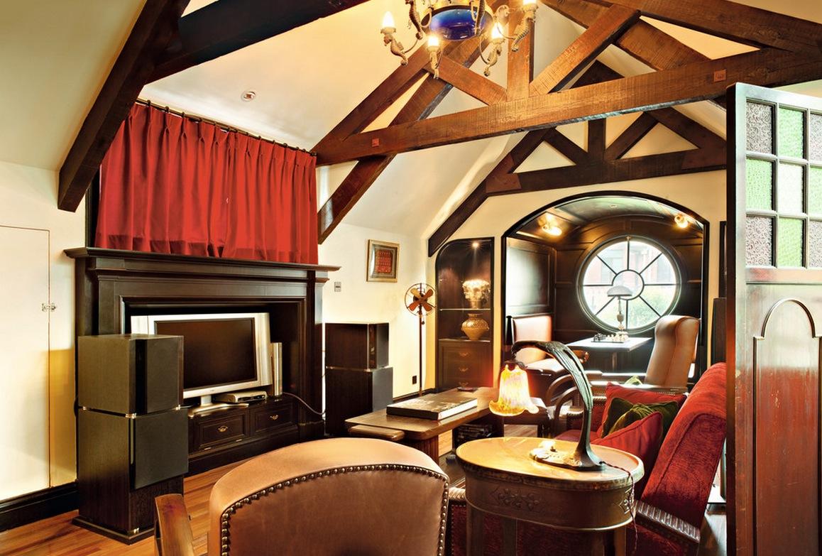 Art Deco Style Wood