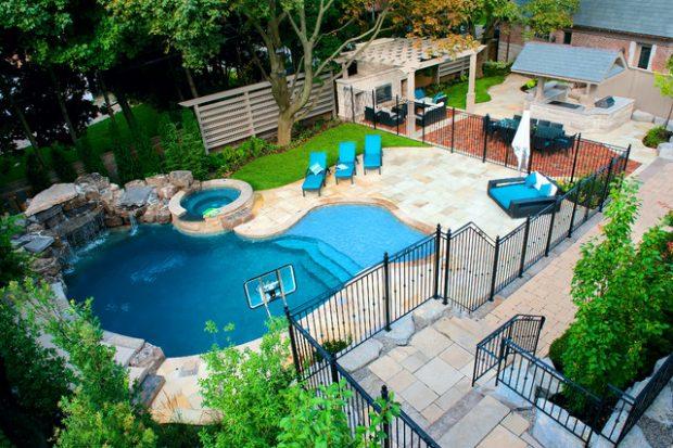 Backyard Pool Design