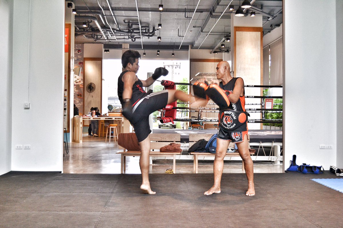 Design a Wonderful Gym of Muay Thai Building