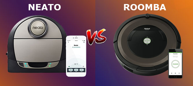 Roomba And Neato Robot Vacuum Cleaners