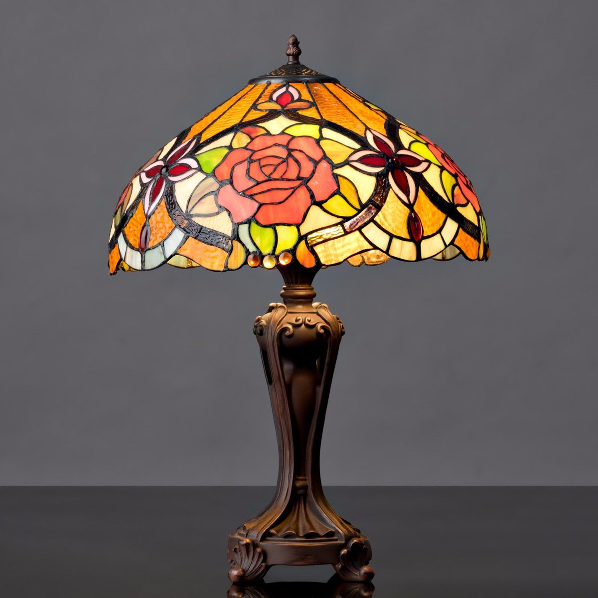Tiffany Styled Table Lamps