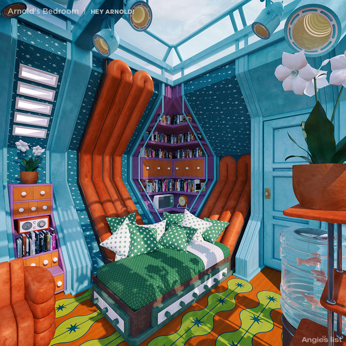 Arnold's Bedroom