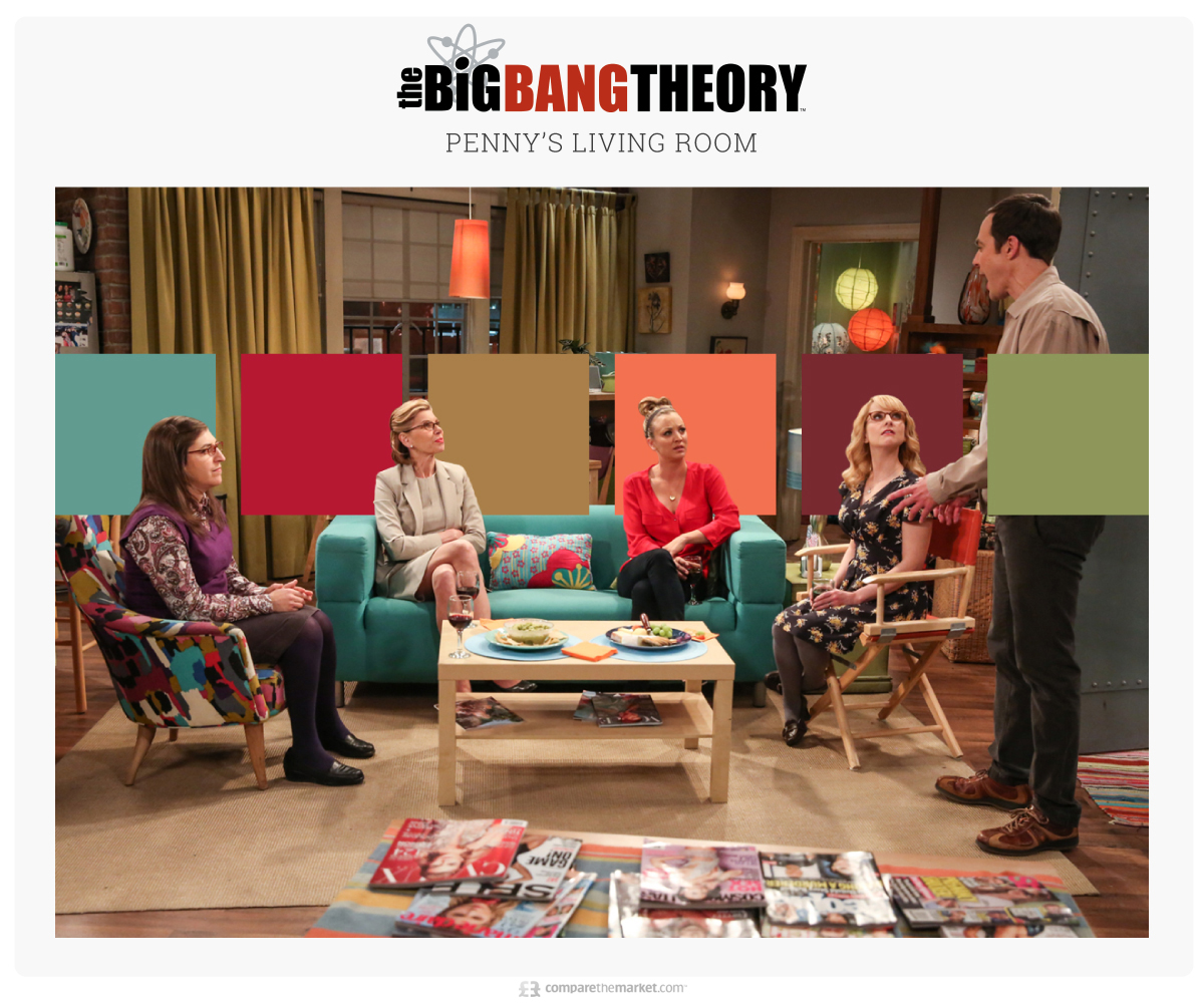 The Big Bang Theory - Penny's Living Room
