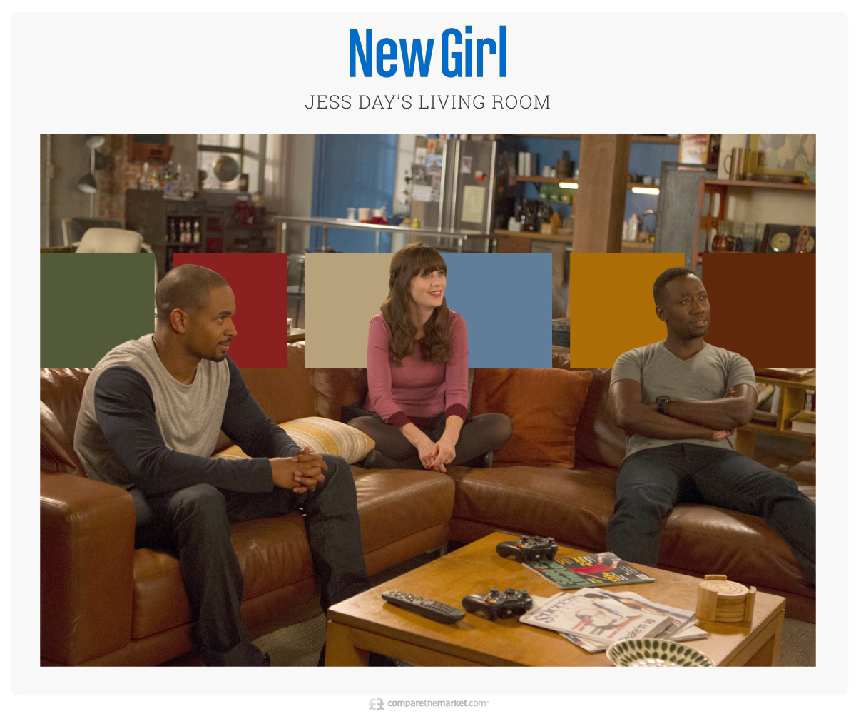 New Girl - Jess Day's Living Room