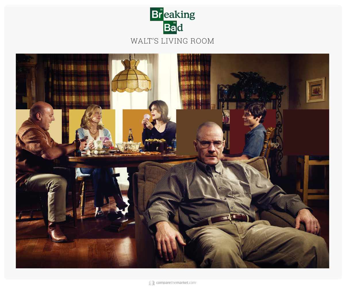 Breaking Bad - Walt's Living Room