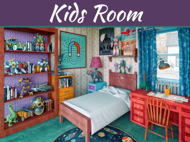 6 Fictional Kids' Bedrooms Brought to Life
