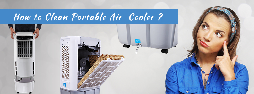 Clean Portable Evaporative Cooler