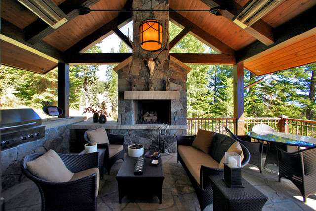 Cozy Rustic Patio