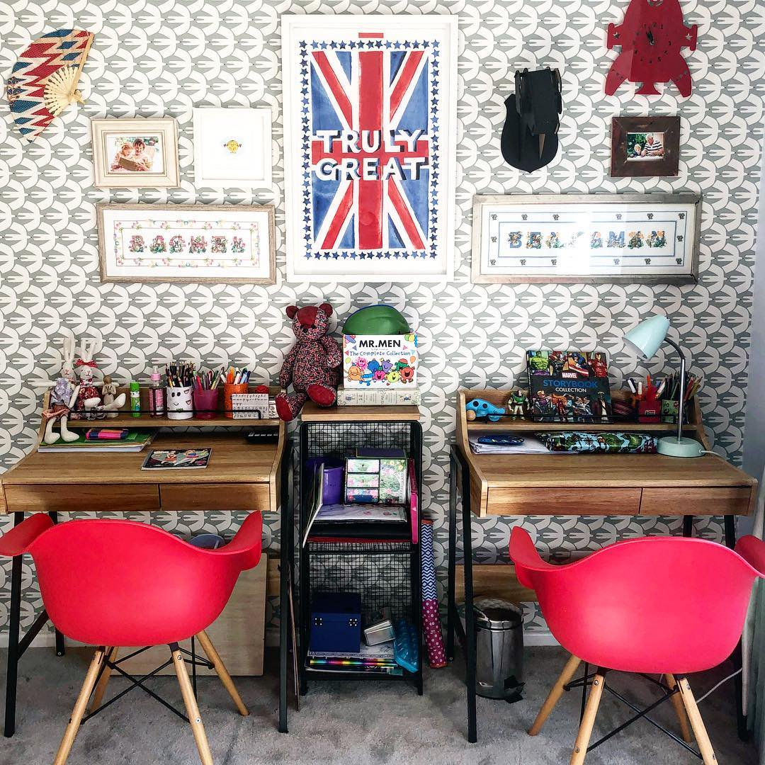 Kids Workspace Decor
