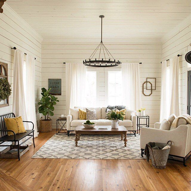 Magnolia Living Room Ideas