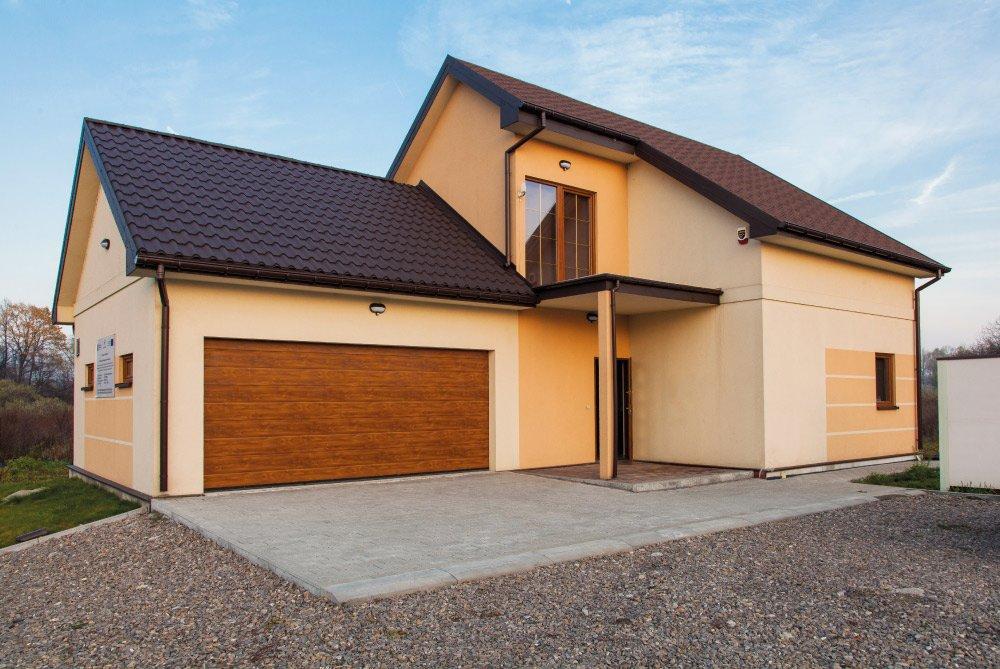 Panel Built House