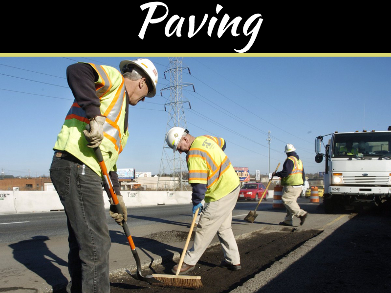 Services Of The RVA Paving Companies
