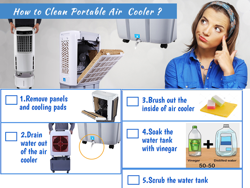 Top 8 DIY Air Cooler Cleaning Ideas