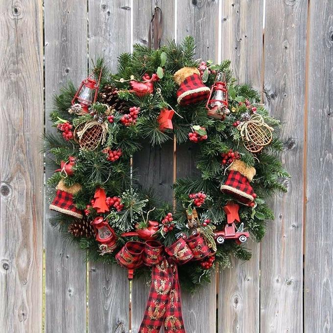Wooden Wreaths