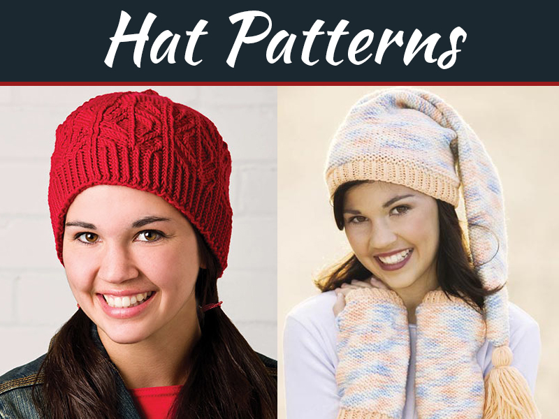 6 Hat Patterns for Cooler Weather