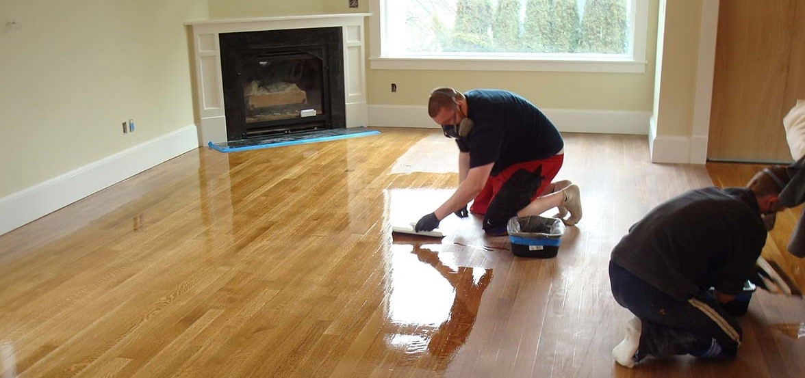 Easy to Clean Hardwood Floor