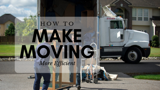 How To Make Moving More Efficient?