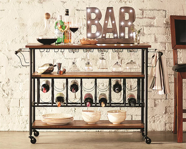 Movable Bar Cart