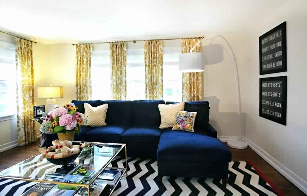 Blue And Brown Living Room Designs Decorating Ideas