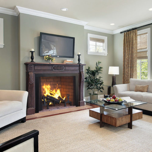 Cost Effective Fireplace