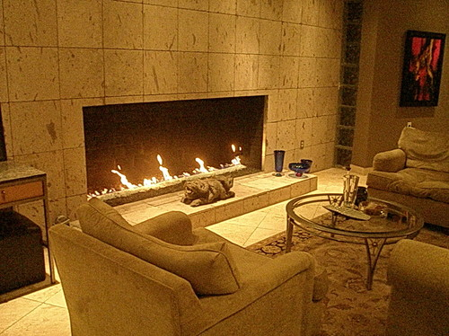Fireplace That Match With Interior Design