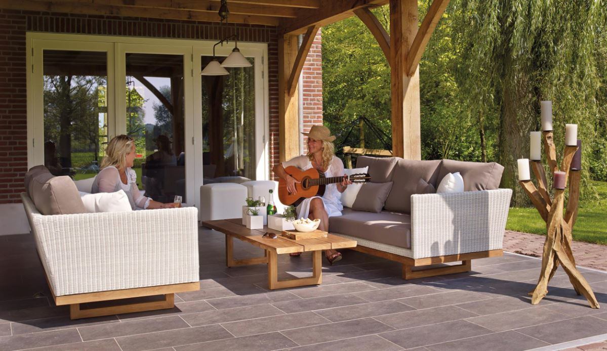Think Of Your Outdoor Spaces As Rooms