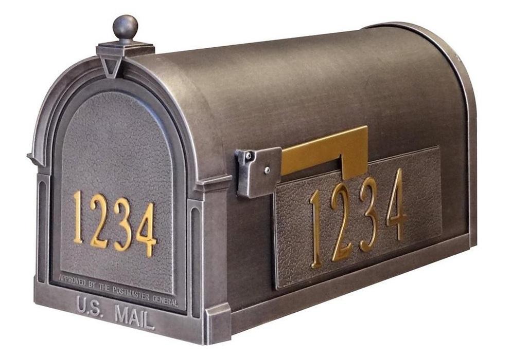 Special Lite Custom Curbside Mailbox Scb 1015 Dx Swedish Silver