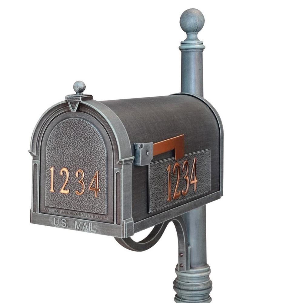 Special Lite Customized Curbside Mailbox Scb 1015 Dx Verde Green