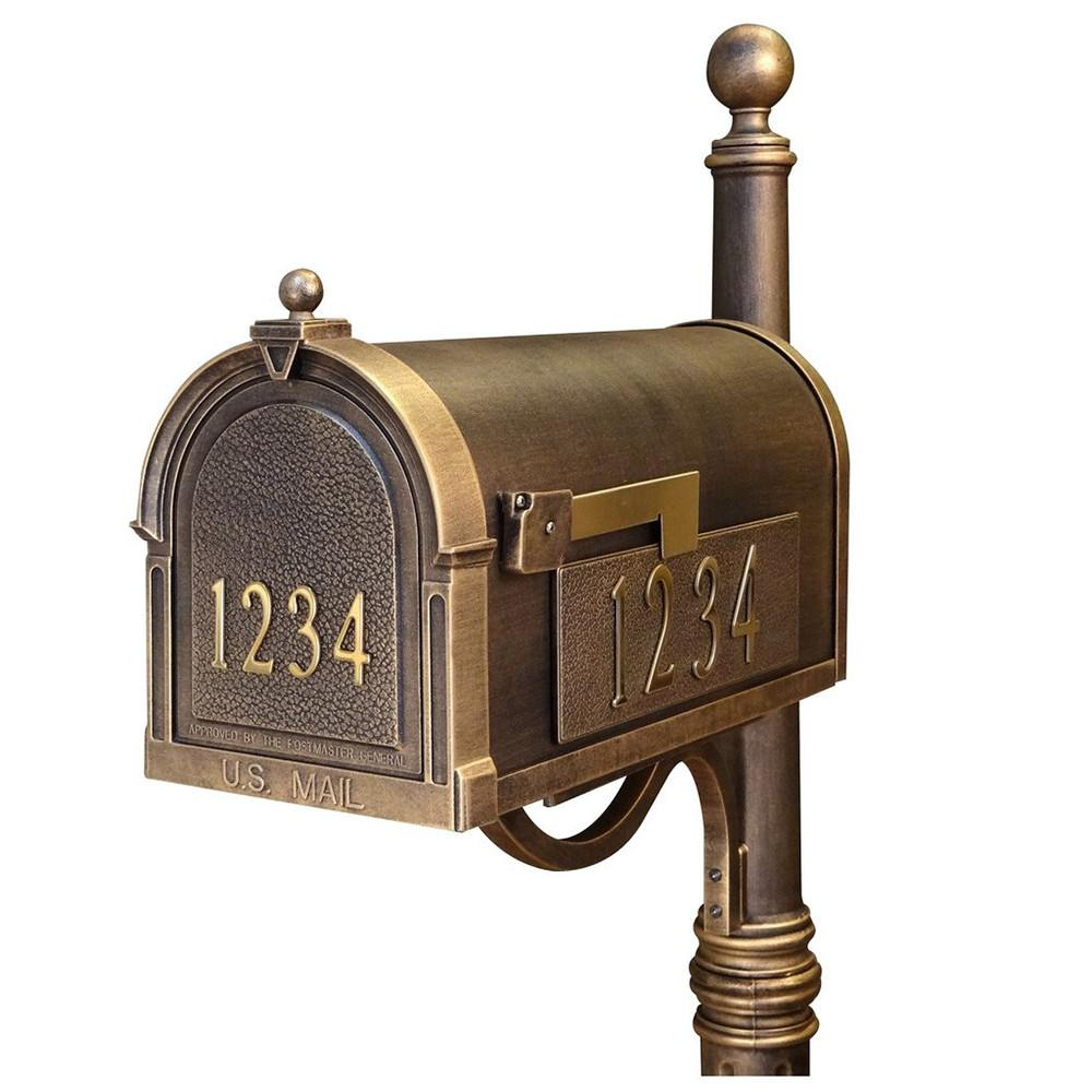 Special Lite Personalized Curbside Mailbox Scb 1015 Dx Bronze