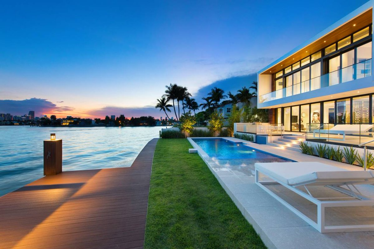 Waterfront Real Estate Miami
