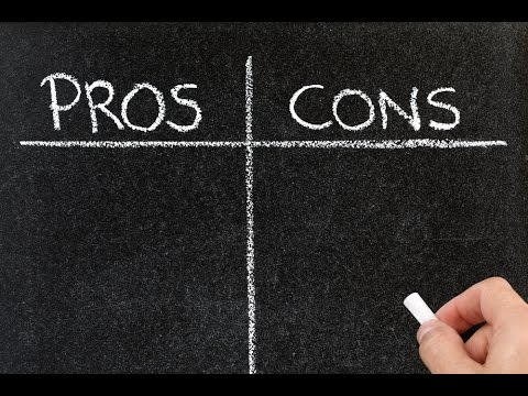 Make A Pros And Cons List
