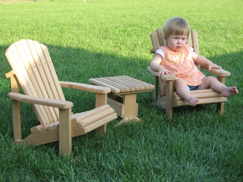 Adirondack Style Furniture For Kids