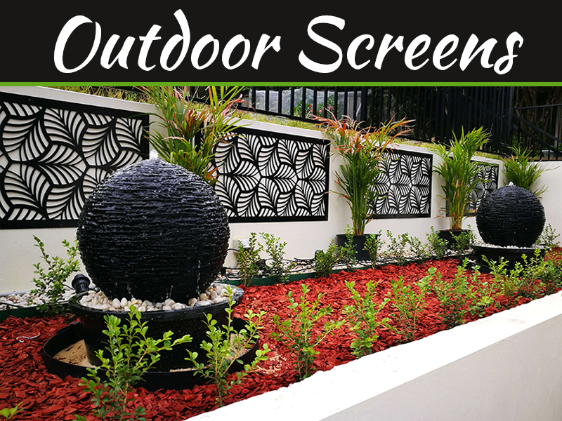All About Outdoor Decorative Screens