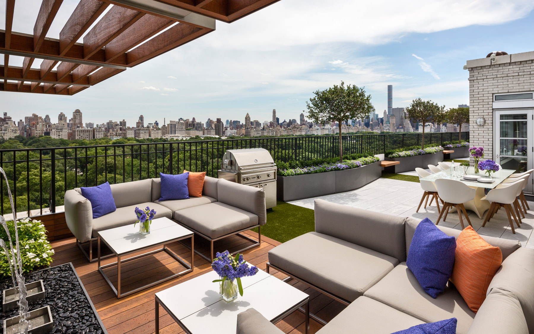 Central Park West Penthouse Terrace