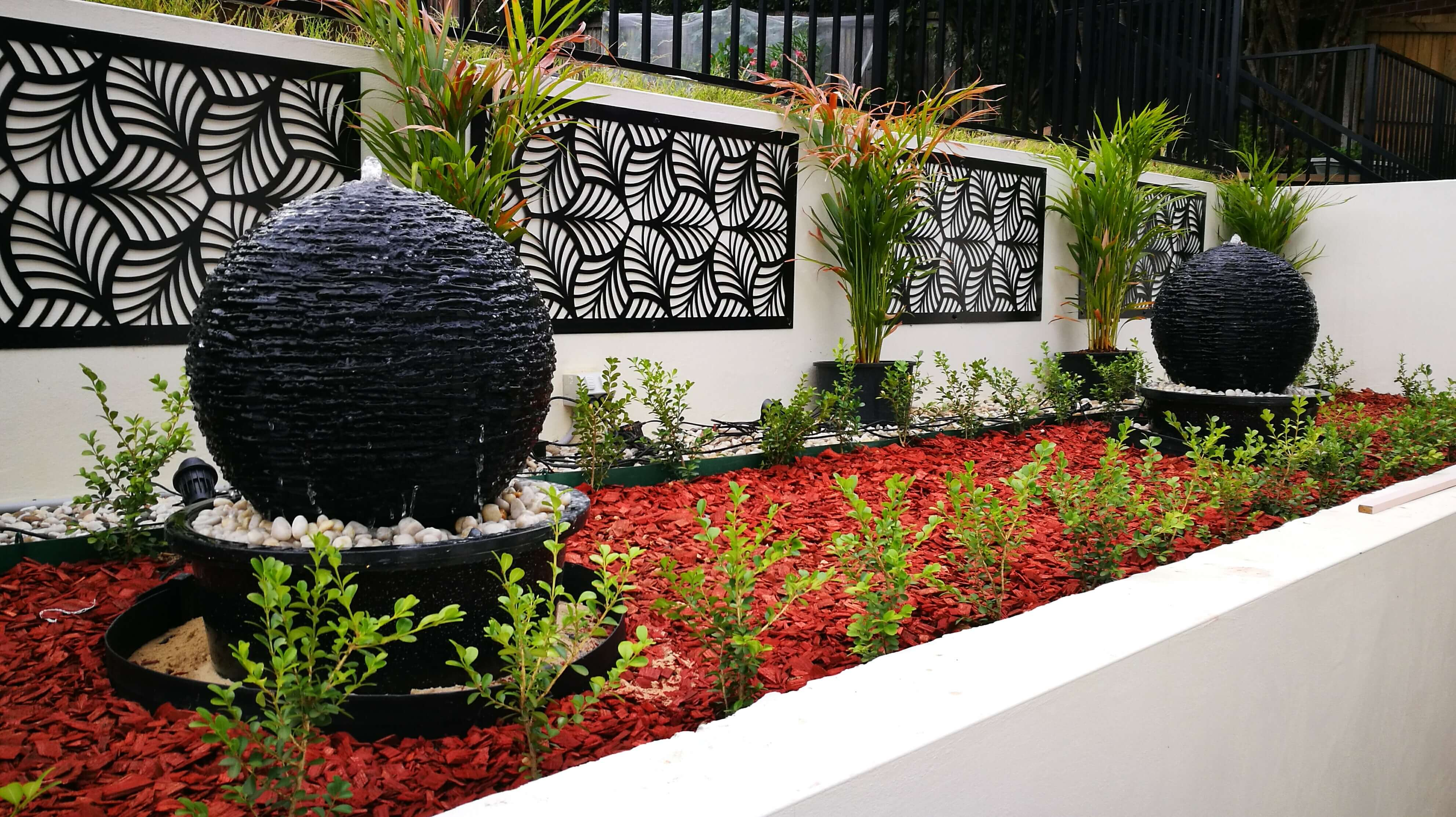 Decorative Outdoor Screen