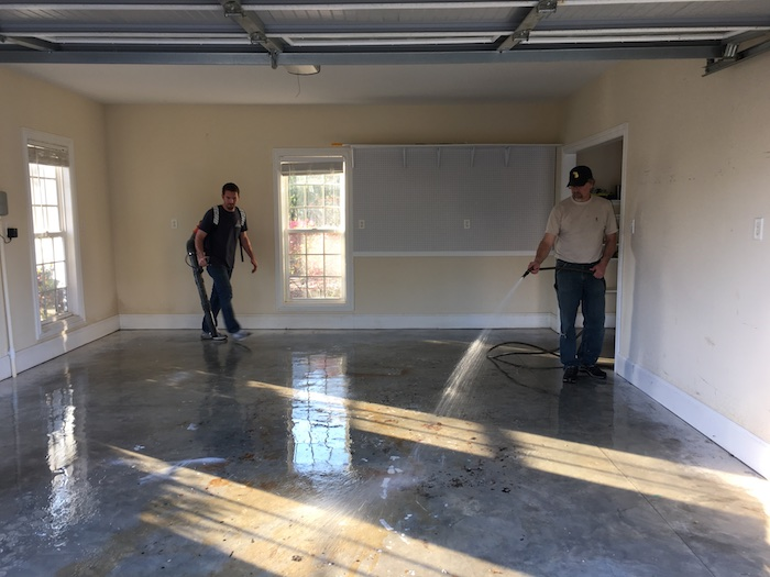 Floor Coating Clearing