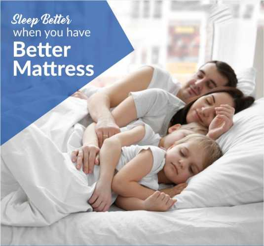 Get A Better Mattress And Get A Better Sleep