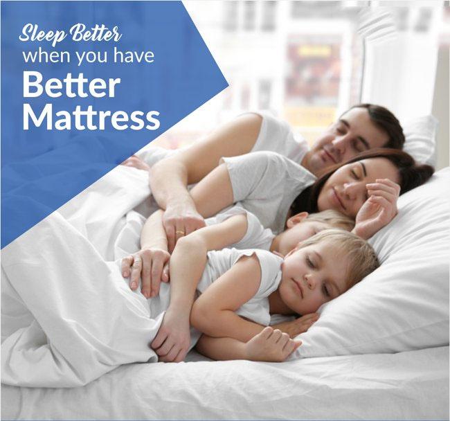 Get A Better Mattress And Get A Better Sleep