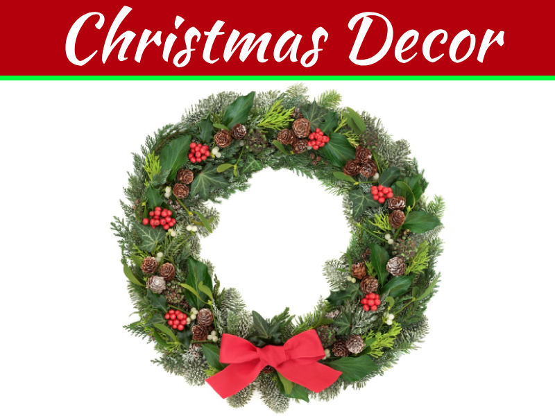 How To Make A Christmas Wreath In Under 10 Minutes