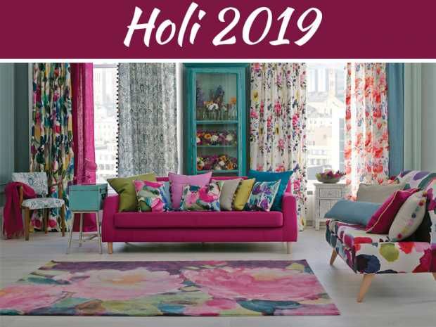 2019 Holi Decoration Ideas for Your Home Interior