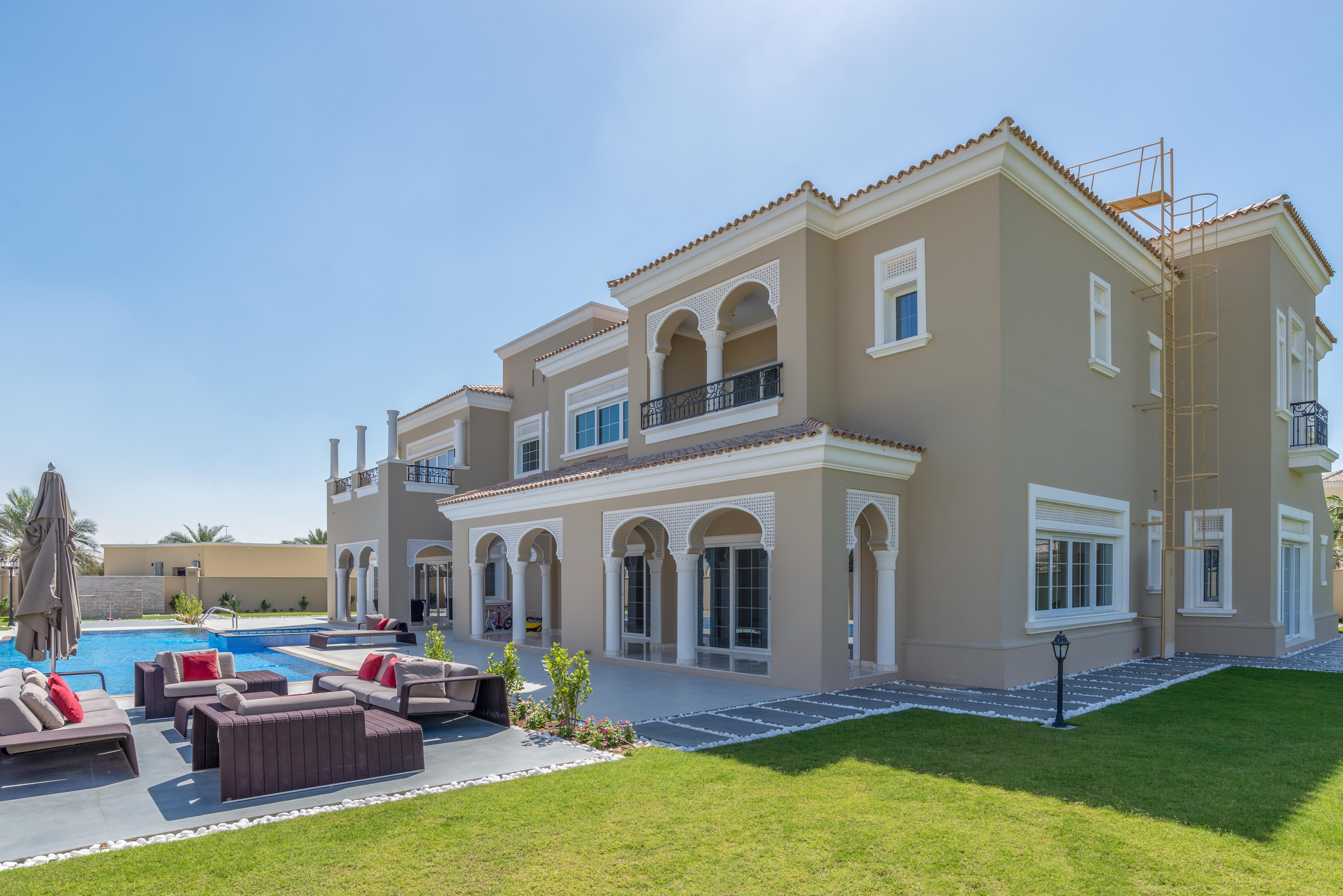 Arabian Ranches Villa Patio